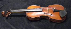 Circa 1900 French Copy of a 1721 4/4 Stradivarius..Vintage bow