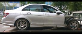Breaking Mercedes W204 C Class C220 C200 CDI Diesel 2.1 646