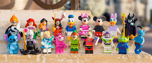 looking for daisy and alladin disney lego series will trade for