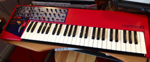 Nord Lead 1  RARE 12 Voice expanded synthesizer