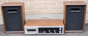 Candle AM/FM 8 Track Stereo Unit