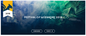 1 ticket for Harry Potter festival in Blythe, Ontario
