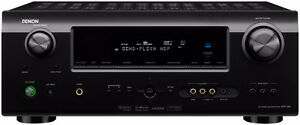 Denon Avr590 amplifier and speakers