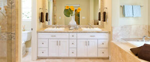 EnjoyHome Beautiful solid wood vanity New Year Promotions!!!  WW