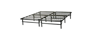 TWIN bed frame and 2 mattresses