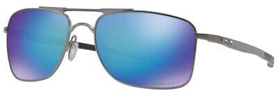 Oakley Gauge 8 Sunglasses L Gunmetal Frame Prizm Sapphire Polarized OO4124-06