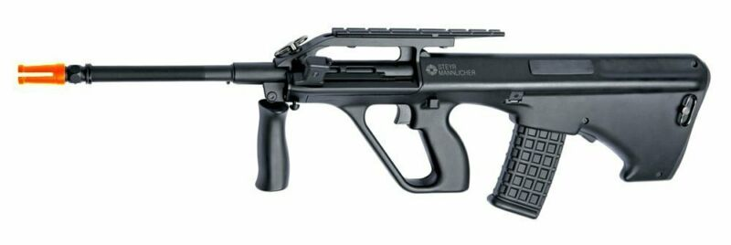 Value Pack Semi & Full Auto Trigger Steyr AUG A2 Airsoft Rifle w/ 330 Round Mag