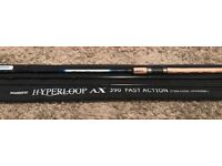 NEW Shimano 'HYPERLOOP MATCH 390FA (Fast Action)' 13ft Float Match Rod