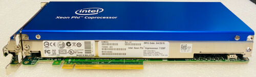 Intel Xeon Phi Coprocessor 7120P 61-Core 16GB RAM E2M34A Intel 7120P Dell 01K9F2