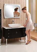 Only $799.00 for the Paxton Vanity with Vessel and Mirror