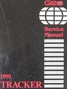Chevy Tracker Repair Manual