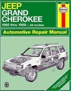 Jeep grand cherokee repair service manual 2005-2014 | haynes.