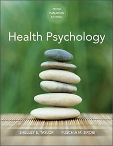 TESTBANK Healthy Psychology 3rd Canadian Ed. by Shelley Taylor Kitchener / Waterloo Kitchener Area image 1
