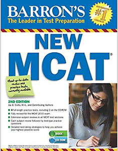 Barrons 2nd edition MCAT preparation