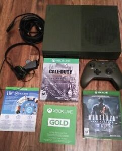 Limited Edition XBOX One S 1 TB bundle (Classic Army Green)