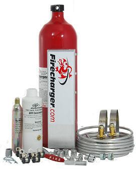Firecharger Fire Suppression System. USMTS Midget NASCAR UMP Mini Micro Sprint