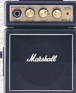 Marshall MS2 Guitar Amp Black Micro Stack Amplifier Macquarie Fields Campbelltown Area Preview