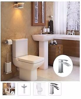 modern toilet and basin suite from as low as £239