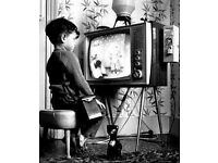"Wanted: (please) Large (32"" +) Colour TV (can collect) = 'good home offered'"