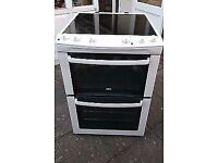 ZANUSSI 60cm ELECTRIC COOKER, 4 MONTHS WARRANTY, FREE LOCAL DELIVERY