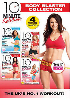 10 MINUTE SOLUTION THE BODY BLASTER COLLECTION - DVD - REGION 2 UK
