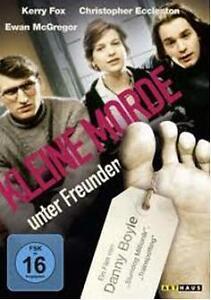 Kleine Morde unter Freunden (NEU&OVP) Rabenschwarze Komödie von Danny Boyle.