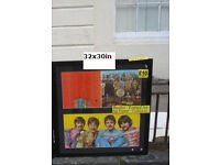 Beatles - Sergeant Peppers Lonely Hearts Club - Album FRAMED WALL ART