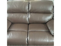 4 months old A pair of leather sofas
