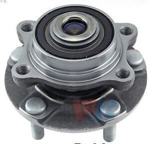 Front Wheel Bearing & Hub Assembly - used