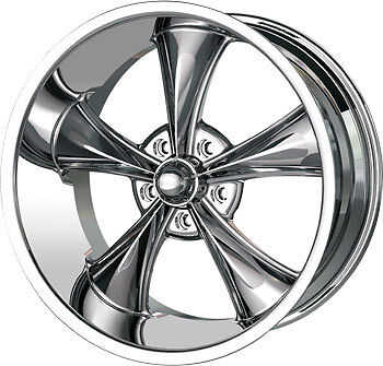 "RIDLER 18"" RIMS 5X4.5 WHEELS CHROME & NITTO NT555 245-45-18 & 275-40-18 TIRES"