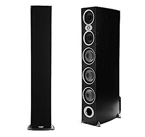 Speakers Polk Audio RTiA9, black.