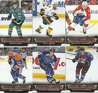 !!!!!!!!!!  Wanted Young Guns Hockey Cards  !!!!!!!!!