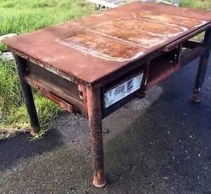 Work Bench - 1/2 inch Steel Plate Top Geelong Geelong City Preview