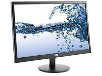 "New, Unused 22"" AOC PC Monitor"