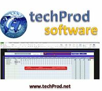 Free Samples -Unique & Innovative Excel Tools (www.techprod.net)
