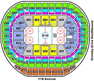 Edmonton Oilers, Rogers Place Sept.18th, 2017 Preseason Tickets