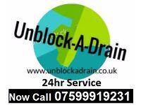 Blocked Toilet or Drain? > No Problem!