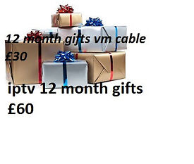 12 MONTH LINES MAG BOX SKYBOX ISTAR EVO SLIM GIFTS OPENBOX OVERBOX ZGEMMA CABLE BOX VM