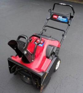 Used Gas Snow Er