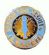 Girl Scout Leader Pin