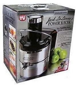 Brand New Jack Lalane Power Juice, Stainless Steel