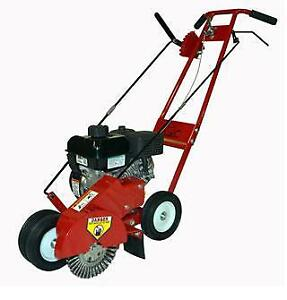 New Landshark Gas Powered Walk Behind Crack Cleaner Honda Engine Landscape Edger Billy Goat Grazor Little Wonder