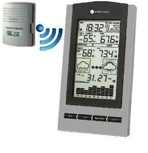 Semi-Professional Wireless Weather Station with Remote Channel Sensor