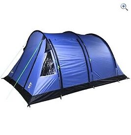 Brand new/unused Hi Gear Rock 4 tent, canopy and matching carpet bundle