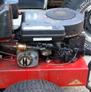 8 Hp Briggs and Stratton Engine from riding mower