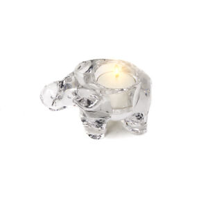 Glass-Elephant-Candle-Holder-for-Tealights-Free-Soy-Tealight