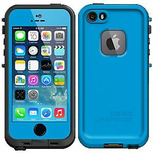 Blue Lifeproof case for iPhone 5/5s/SE