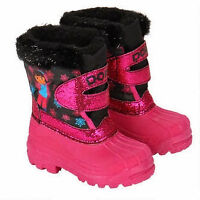 BRAND NEW WITH TAG: Dora Snow Boot for Toddler(Size : 8)