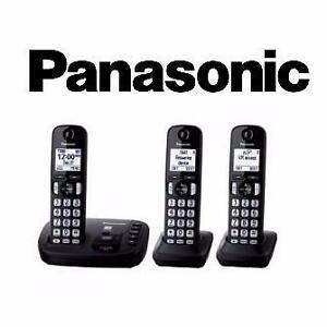 Téléphone sans fil 3 combinés DECT 6.0 avec répondeur Panasonic ( KX-TG443C )