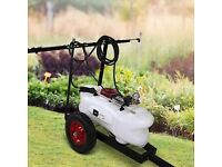 BLACK TOOLS ATV Agricultural Sprayer - AP 60D ON TRAILER FOR QUAD OR TRACTOR